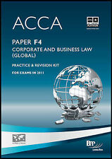 ACCA - F4 Corp and Business Law (GLO): Revision Kit, BPP Learning Media Ltd, Goo