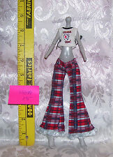 MGA CLOTHES OUTFIT SET FOR MONSTER HIGH GIRL DOLL LOT #15 PANTS & SHIRT