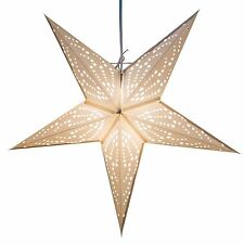 Frozen Paper Star Light Lamp Lantern with 12 Foot Cord Included