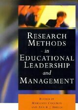 Research Methods in Educational Leadership and Management (Centre for Educationa