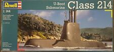 Revell 1/144 German Submarine U-Boot U214 Plastic Model Kit 05056