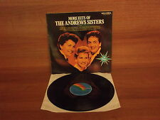 More Hits Of The Andrews Sisters : Vinyl Album : MCA Coral : CDLM 8030