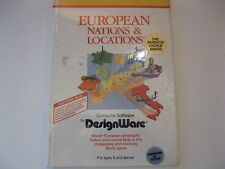 EUROPEAN NATIONS &  LOCATIONS COMMODORE GAME C64 SEALED BY DESIGNWARE