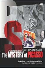 The Mystery of Picasso (1956) Henri-Georges Clouzot / DVD, NEW