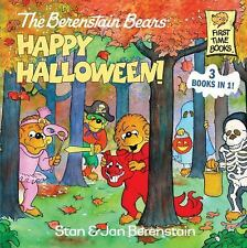 The Berenstain Bears Happy Halloween! (First Time Books(R))-ExLibrary