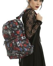 DC Comics Suicide Squad Harley Quinn Sketchy School Book Bag Backpack NWT!