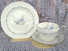 "2 Paragon ""Morning Rose"" Trios (Tea Cup, Saucer and Plate) (276)"