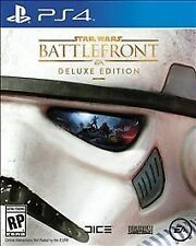 Star Wars Battlefront Deluxe Edition - Sony Playstation 4 PS4 - NEW & SEALED