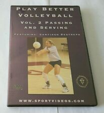 """Play Better Volleyball, Vol. 2: Passing and Serving (DVD, 2006) """"NEW"""""""