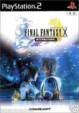 Used PS2  Final Fantasy X International SONY PLAYSTATION JAPAN IMPORT