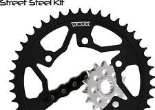 06-08 YZF R1 Vortex 520 RV3 16/45T Light Steel Sprocket & Chain Kit Yamaha