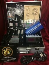 SS4 COMPLETE TATTOO KIT, 1 ROTARY MACHINE, DIGITAL POWER UK INK AND NEEDLES