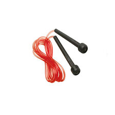 Plastic Skipping Fitness Exercise Workout Boxing Jumping Speed Sports Rope Red