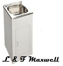 High Grade Stainless Steel Compact Laundry Tub - 35L