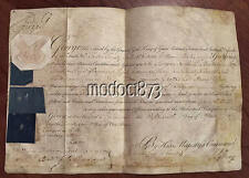 """King George III 1787 Commission Royal Scots """"Black Watch"""" Surgeon"""