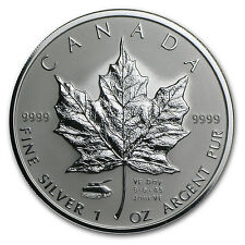 2005 Canada 1 oz Silver Maple Leaf VE-Day Tank Privy - SKU #35689