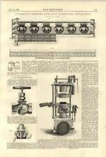 1890 Automatic Stoking Conveying Nunnery Colliery Leeder Sand Moulding Machine