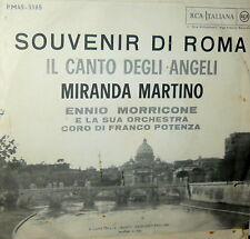 """MIRANDA MARTINO (MORRICONE - POTENZA) 7"""" SOUVENIR DI ROMA-IL CANTO DEGLI  ANGELI"""
