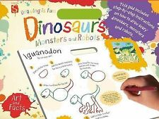 Dinosaurs, Monsters and Robots (Drawing is Fun), Mark, Bergin, New Condition