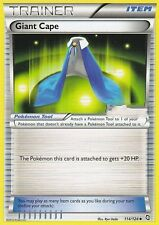BW DRAGONS EXALTED POKEMON HOLO TRAINER CARD - GIANT CAPE 114/124
