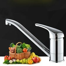 Bathroom Swivel Waterfall Spray Water Faucet Tap  Kitchen Spout Mixer Sink