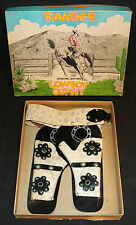 Ranger Genuine Leather Cowboy Outfit Box w Holsters Chancy Toy & Novelty Co (VF)