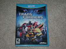 TRANSFORMERS PRIME...NINTENDO WII U...***SEALED***BRAND NEW***!!!!!