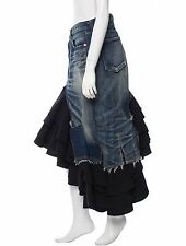 SPECTACULAR NWT JUNYA WATANABE RUFFLED DENIM SKIRT