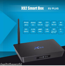 3GB/16GB X92 Android 6.0 Smart TV Box Amlogic S912 Octa-core 2.4GHz/5.8GHz Wifi