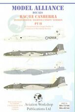 Model Alliance 1/48 BAC/EE Canberra B(I)12s with `Fighter Type' Canopies # 48144