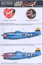 Kits World Decals 1/72 P-47D THUNDERBOLT 368th Fighter Group