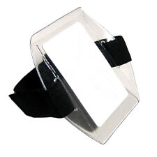 Arm Band Photo ID Badge Holder Vertical w/ Black Strap - Pack of 100