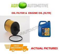 DIESEL OIL FILTER + FS PD 5W40 ENGINE OIL FOR FORD GALAXY 1.9 131 BHP 2002-06