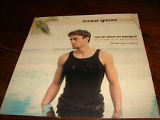 ENRIQUE IGLESIAS QUIZAS !!!!!!!!!!RARE FRENCH PRESS/KIT