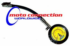 TRIALS BIKE LOW PRESSURE TYRE PRESSURE GAUGE 0-15 PSI  APICO