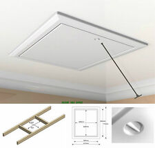 Part L High Insulated Value 035-PU Drop Down Hinged Loft Hatch c/w Opening Pole