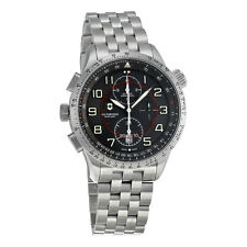 Victorinox Airboss Mach 9 Chronograph Automatic Black Dial Stainless Steel Mens