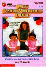Mallory and the Trouble With Twins (Baby-Sitters Club #21)-ExLibrary