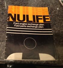 Ford Nulife Engine. Nulife. Ford workers on Nulife Engine. Ford Engine .1968