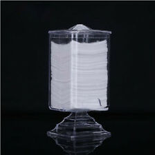 Nail Art Acrylic Polish Remover Cotton Pad Paper Wipe Holder Case Container