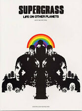 Supergrass Life On Other Planets Learn to Play Indie POP Guitar TAB Music Book