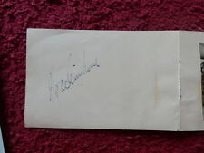 ACTRESS NORA SWINBURNE AUTOGRAPH + PICTURE
