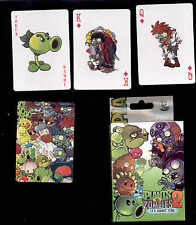Plants vs Zombies 2 Deck of 54 poker playing cards