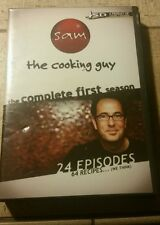 Sam the cooking guy complete first season dvd 24 episodes NEW SEALED