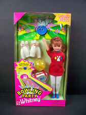 NIB BARBIE DOLL 1998 BOWLING PARTY WHITNEY  OVER 1000 BARBIE L@@K!!