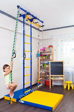 Carousel R55: Kid's Indoor Home Gym Swedish wall Playground Kids room
