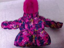 Girls Pacific Trail size 12 months winter jacket pink flowers