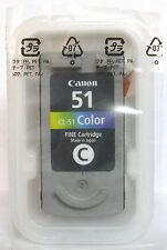 Canon CL-51 CL51 Cartucho De Color Original. nuevo/sellado.