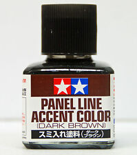 Tamiya 87140 Panel Line Accent Color (Dark Brown) - 40ml