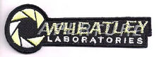 """PORTAL Game- WHEATLEY Laboratories Logo 3"""" Embroidered Patch-FREES&H (PORTPA-05)"""
